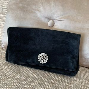 Ann Taylor Genuine Leather clutch Like new